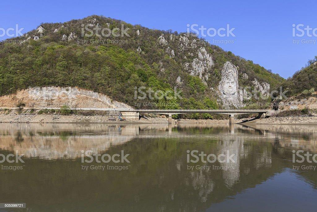 Danube River, Romania stock photo