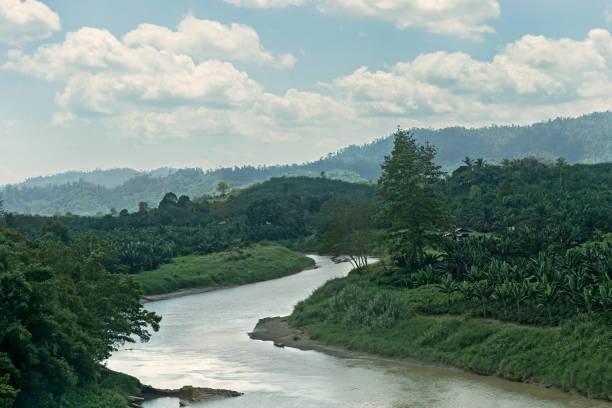 Danum River, Borneo, Malaysia – Foto