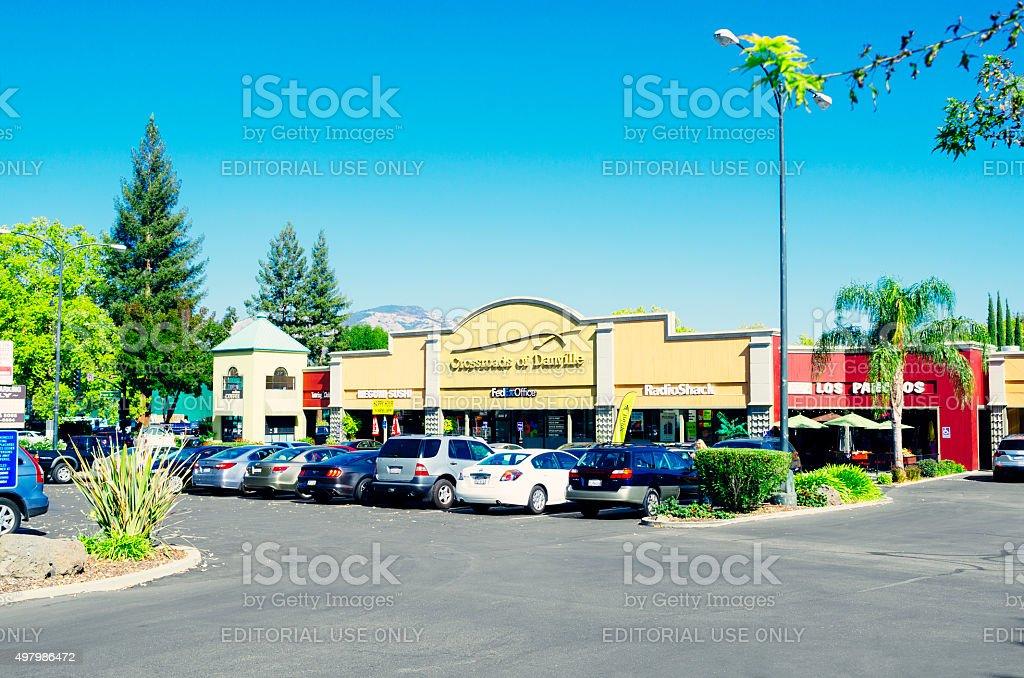 Danville, California, USA stock photo