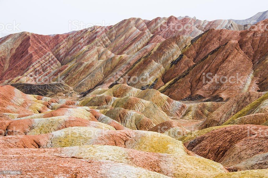 Китай: цветные горы Чжанъе-данься | ВКонтакте | 682x1024