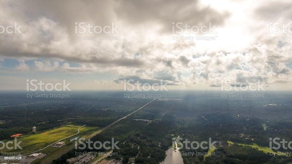 ダフネ、アラバマ州のウォーター フロント - アメリカ合衆国のロイヤリティフリーストックフォト
