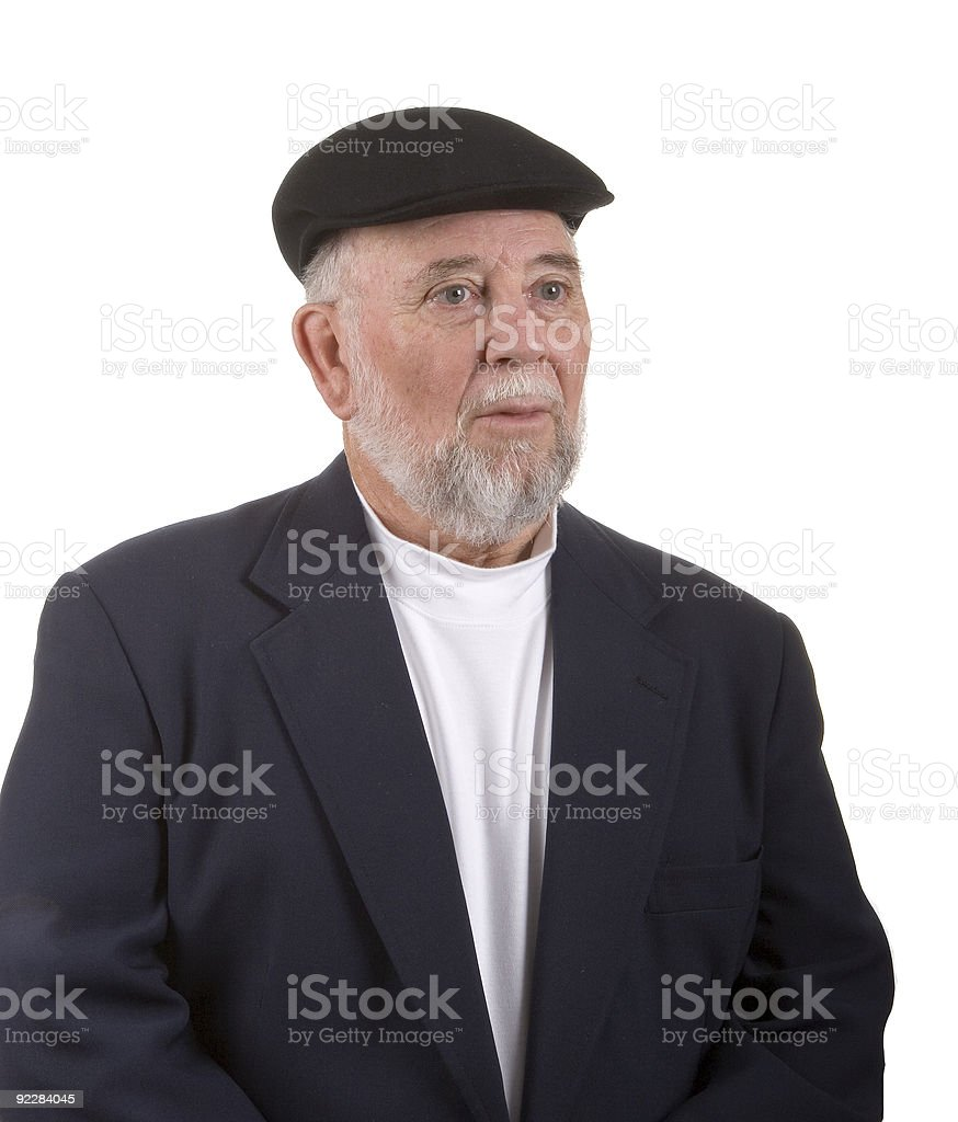 Dapper Older Man stock photo