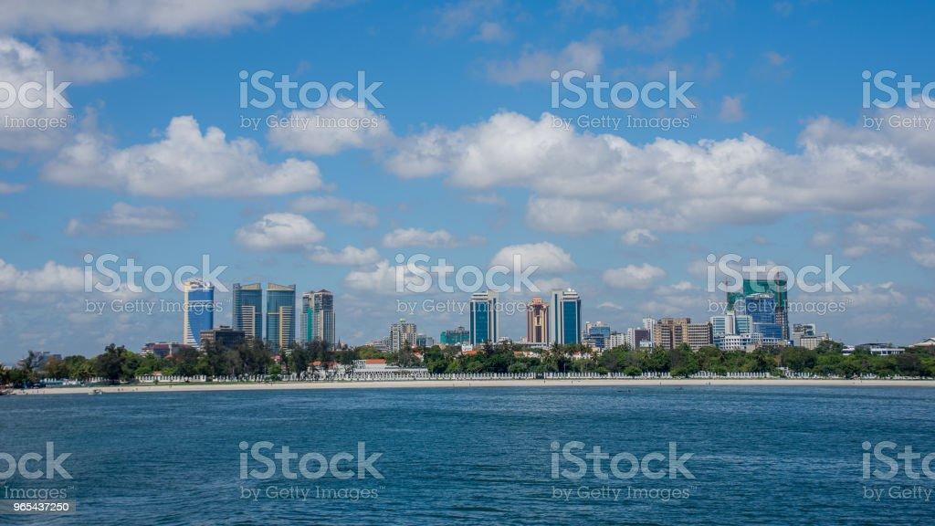 Ville de Dar es-salaam - Photo de Afrique libre de droits