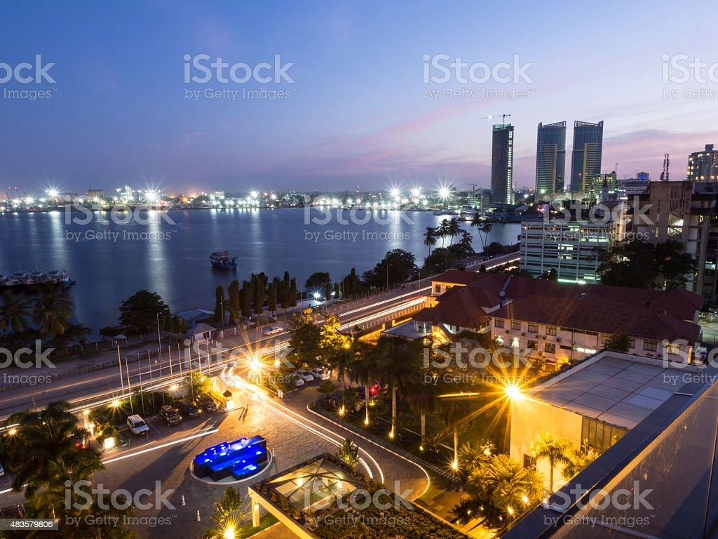 Dar es Salaam stock photo