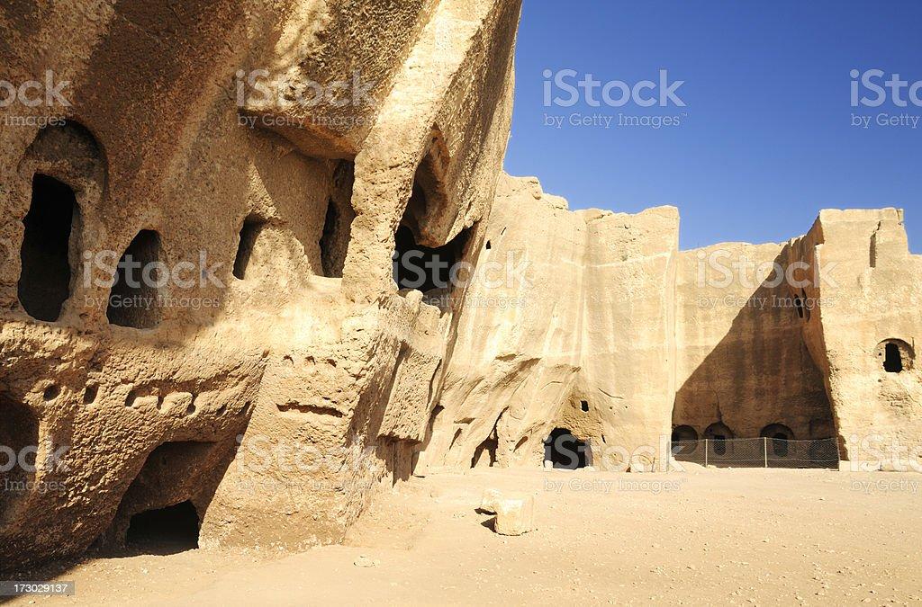 Dara Ruins, Mardin, Turkey royalty-free stock photo