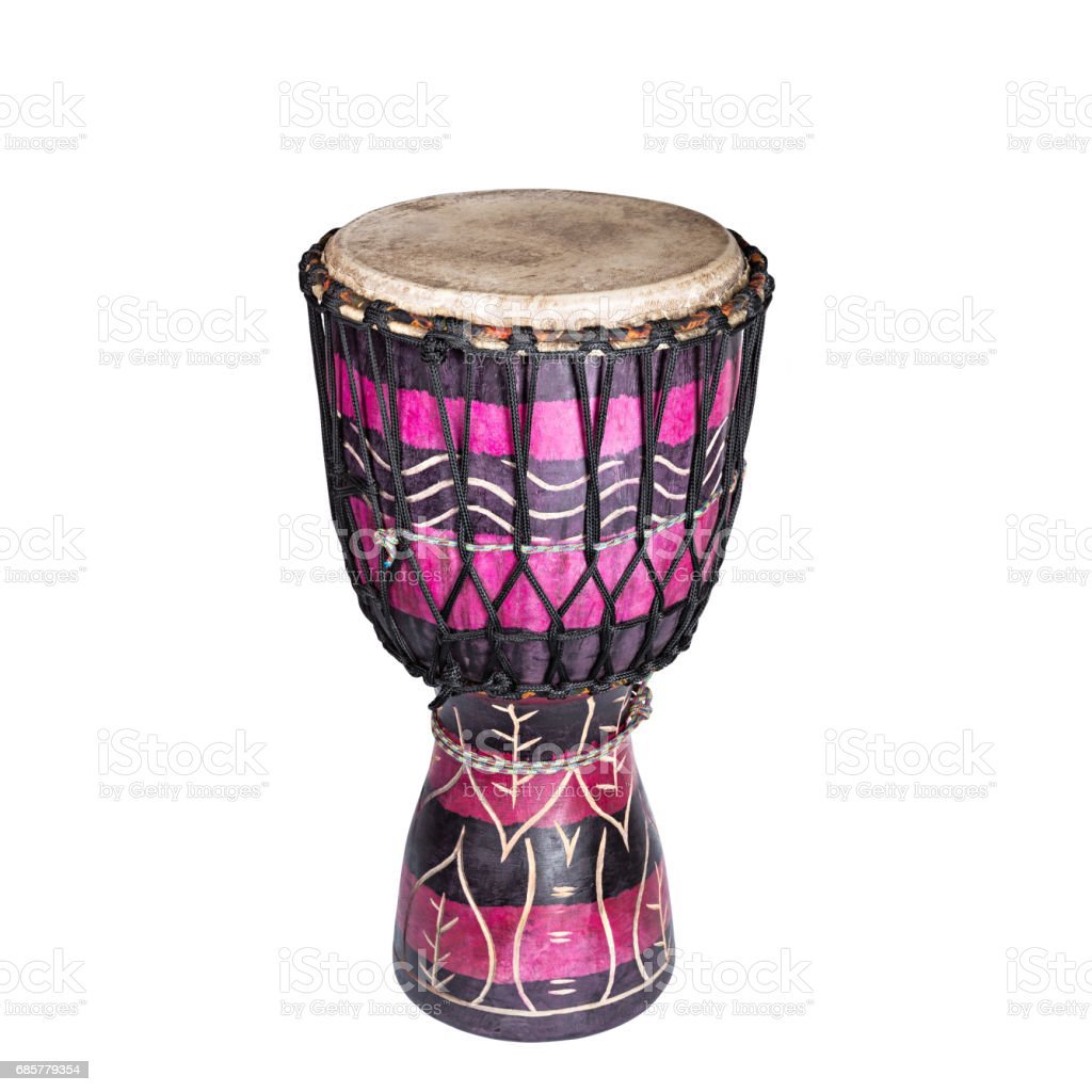 Darbuka, Darabuka white background royalty-free stock photo