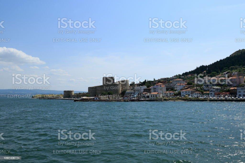 Détroit des Dardanelles, château de Kilitbahir. Turquie - Photo
