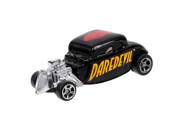 Daredevil 1934 Ford Caldo Asta Maisto Diecast Macchinina giocattolo - foto stock