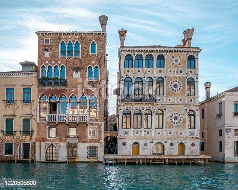 istock Dario Palace and Barbaro Wolkoff Palace 1220505600