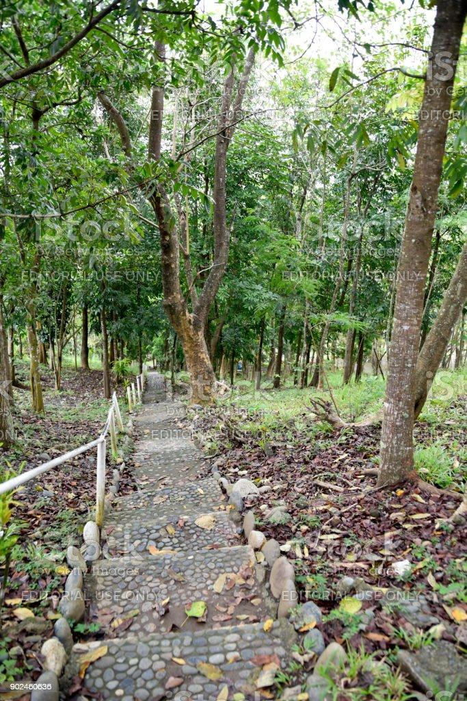 Dariok Hills Garden In The Santiago City With Church Philippines ...