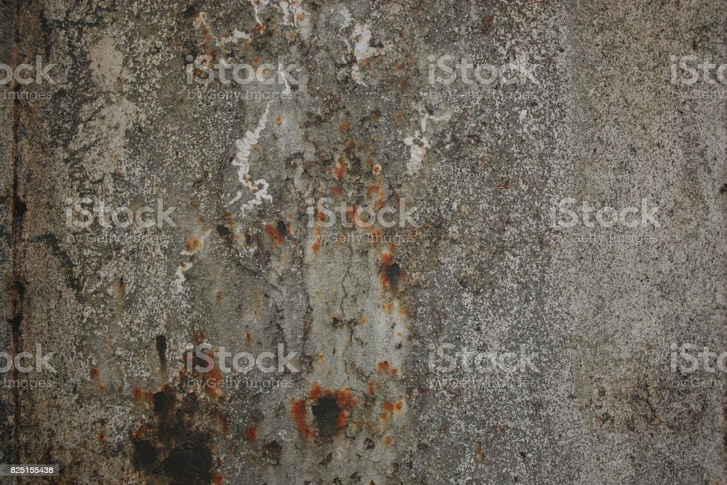 Dark aged gray rust wall texture background royalty-free stock photo