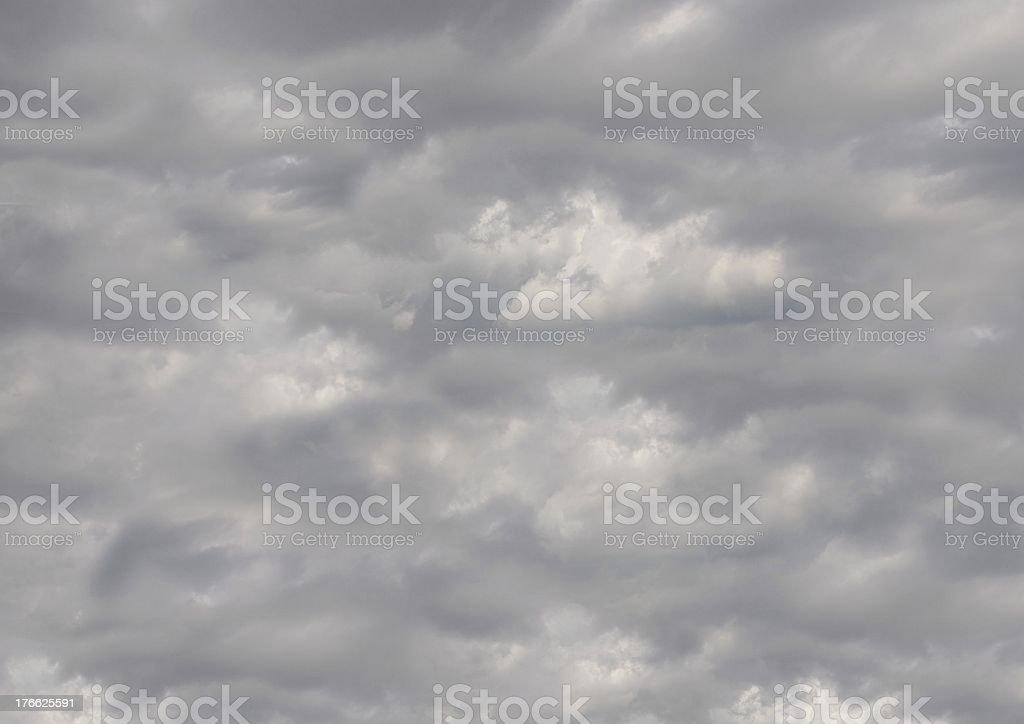 dark and cloudy sky stock photo