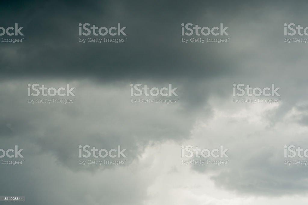 dark and gray sky background stock photo