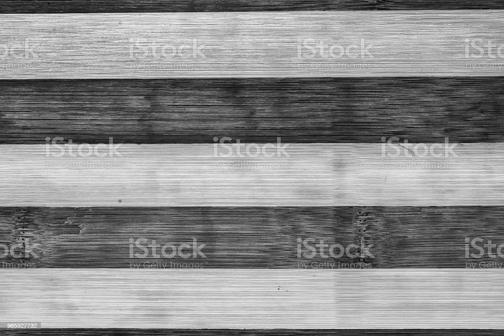 Dark and light brown vintage wooden old planks background. Black and white stripped texture royalty-free stock photo
