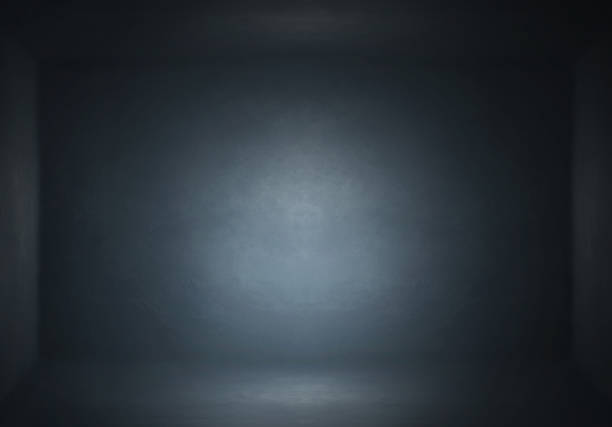 Dark Background Studio room Backdrop 3 stock photo