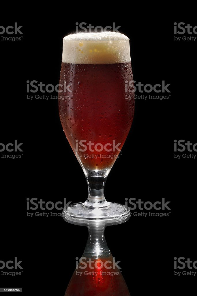Dark beer royalty-free stock photo