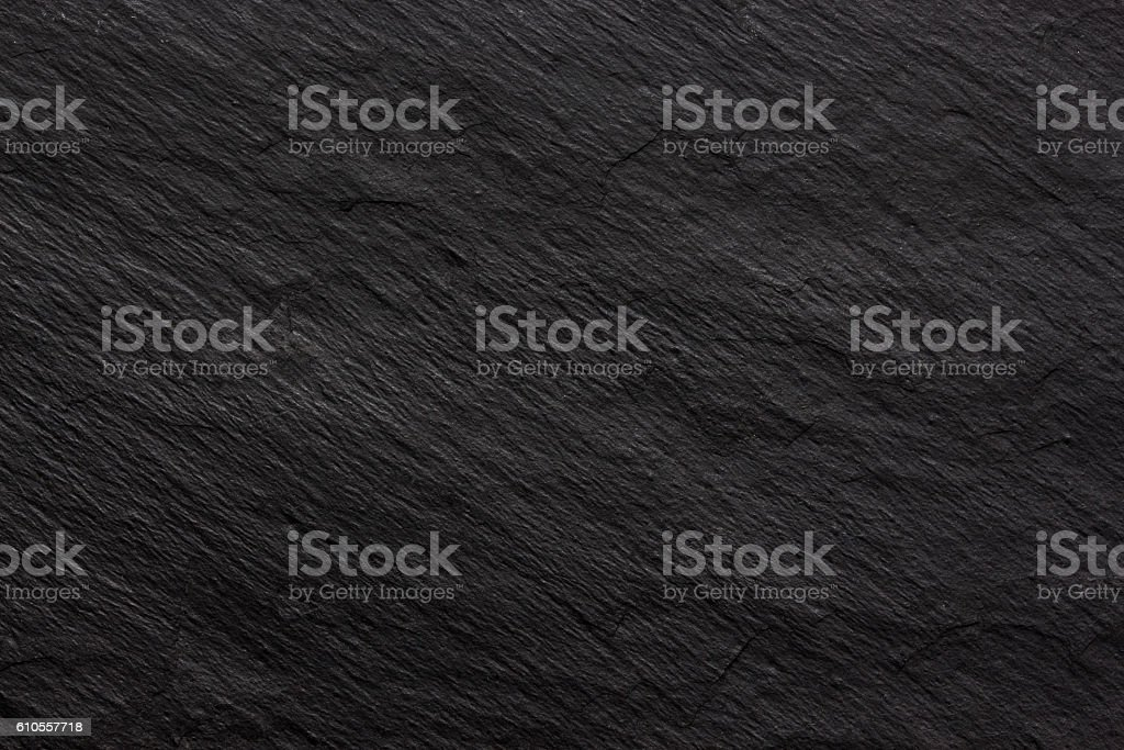 Dark black slate background or texture stock photo