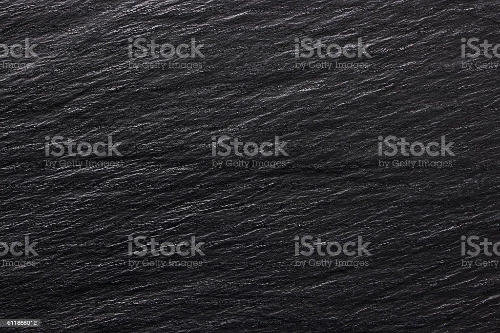 Dark black stone background or texture - foto de stock