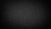 istock Dark black white linen canvas. The background image, texture. 1096047758