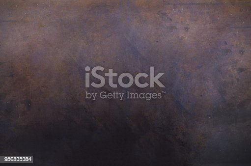 istock Dark blackboard, texture, Vintage Background, Long Format. Banner. Toned effect 956835384