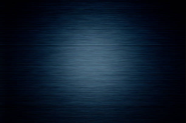 Dark Blue Aluminum Background stock photo