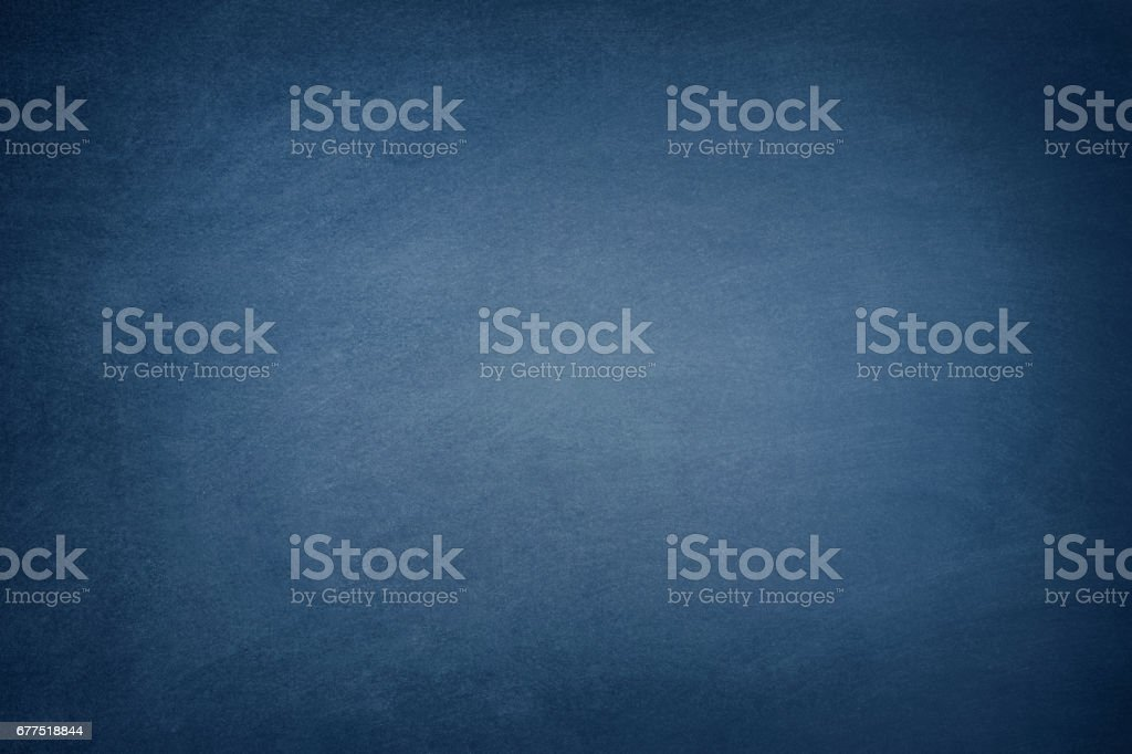 Dark Blue Blackboard - Photo