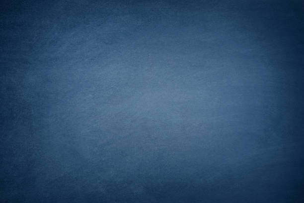 Dark Blue Blackboard - foto stock