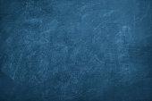 暗い青い黒板