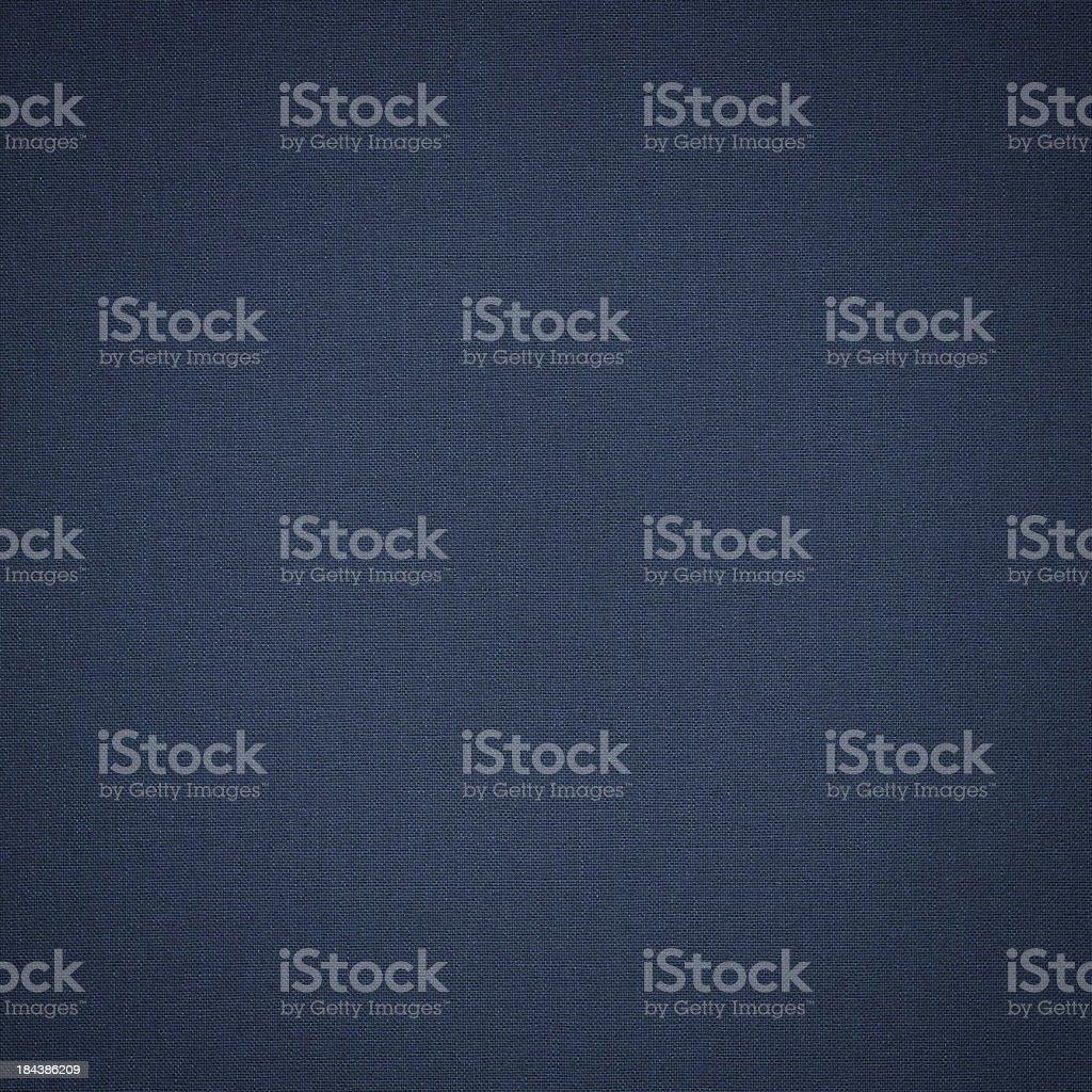 dark blue denim cotton stock photo