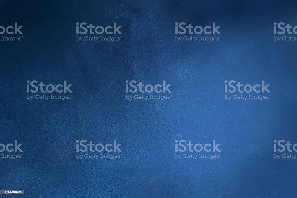 Dark blue grunge background stock photo