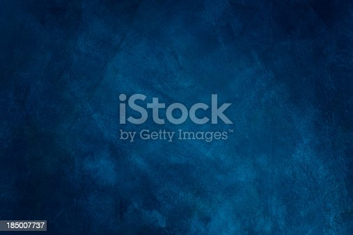 istock Dark blue grunge background 185007737