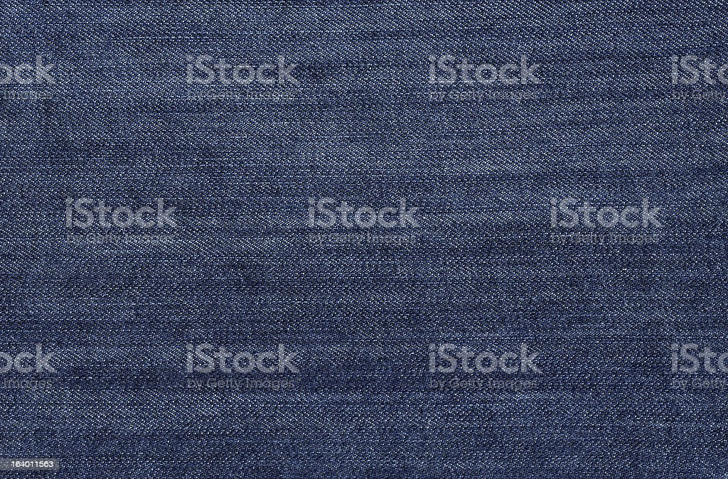 Dark Blue Jean Fabric stock photo