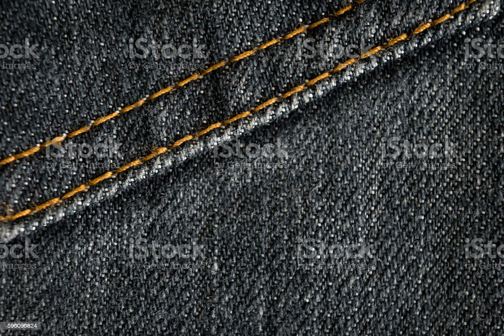 dark blue jean texture with blank space for text royalty-free stock photo
