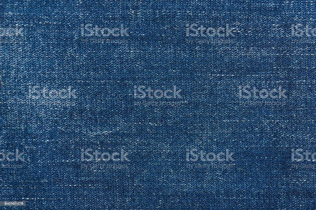 Dark blue jeans background stock photo