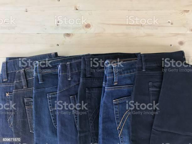 Pantalones Vaqueros Azul Oscuro Foto De Stock Y Mas Banco De Imagenes De Abstracto Istock