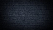 istock Dark blue linen canvas. The background image, texture. 1096054526