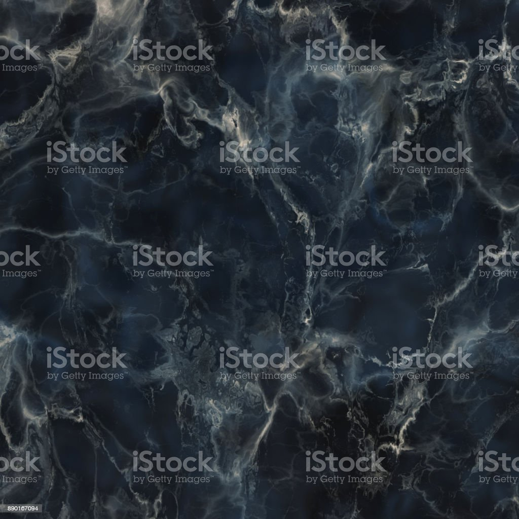 Dark blue marble texture stock photo