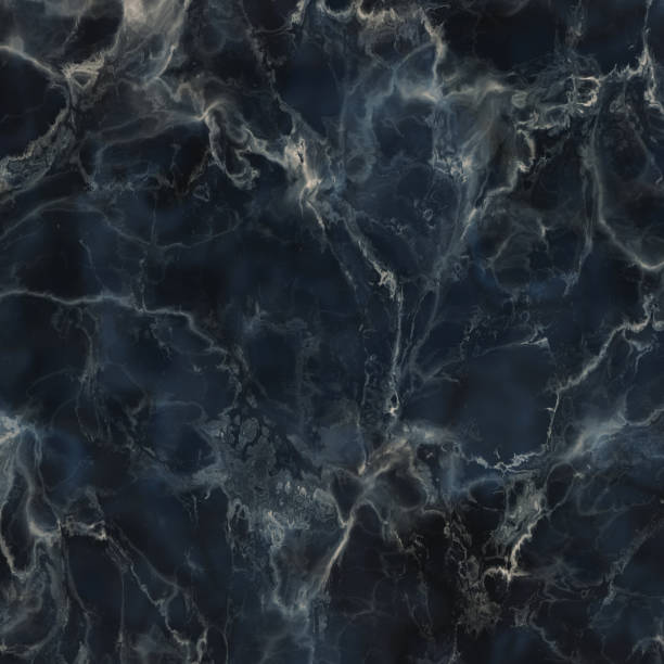 Dark blue marble texture Dark blue marble background marbled effect stock pictures, royalty-free photos & images