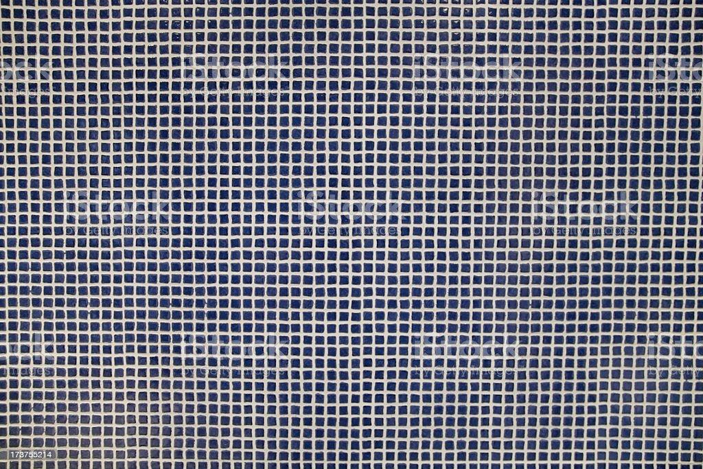 Dark Blue Mosaic Background-more below royalty-free stock photo