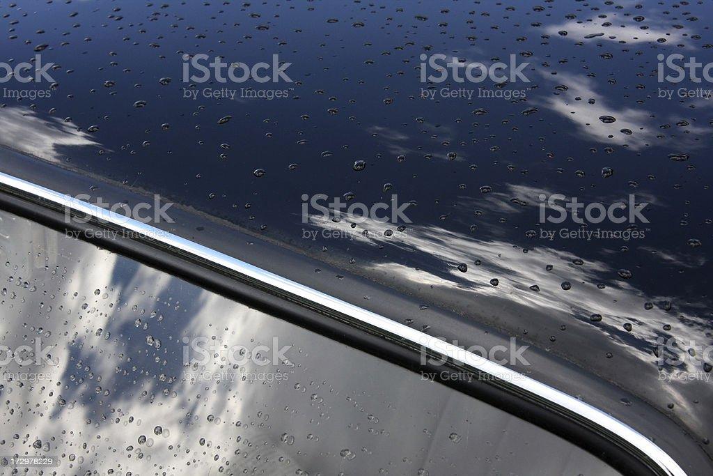 Dark blue stock photo
