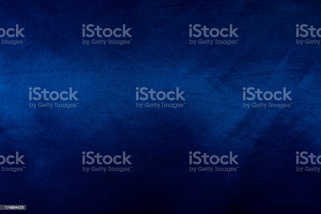 Dark blue satin stock photo