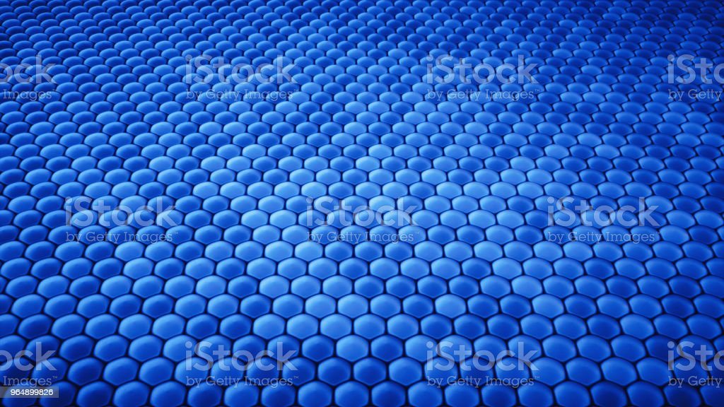 Dark blue structure resembling bubble wrap royalty-free stock photo