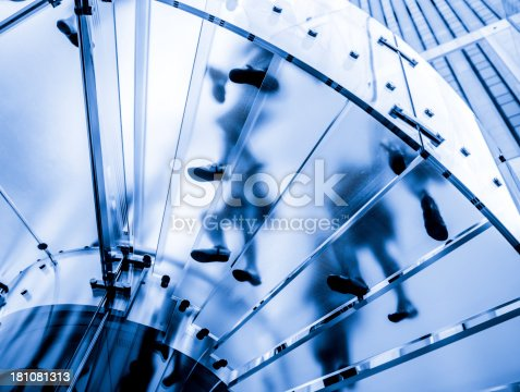 180698194istockphoto Dark blue tint on glass staircase 181081313