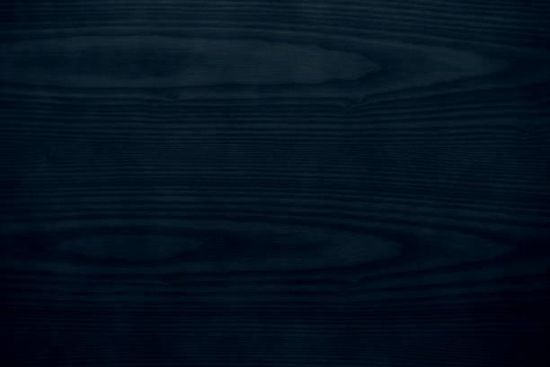 madera de color azul oscuro - foto de stock