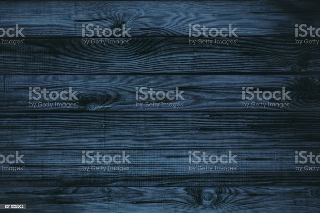 Dark blue wood stock photo