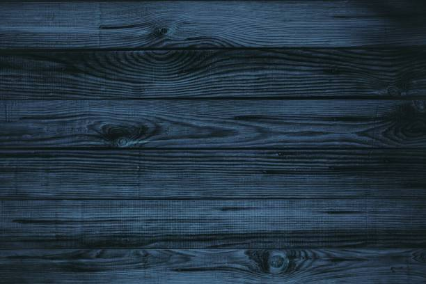 Dark blue wood - foto stock