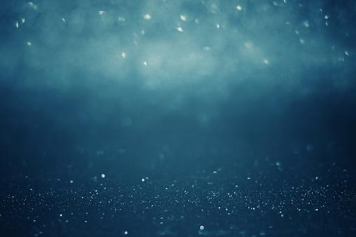 Dark bokeh lights defocused background