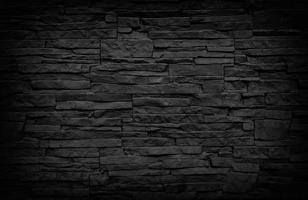 ... Dark Brick Wall stock photo ...