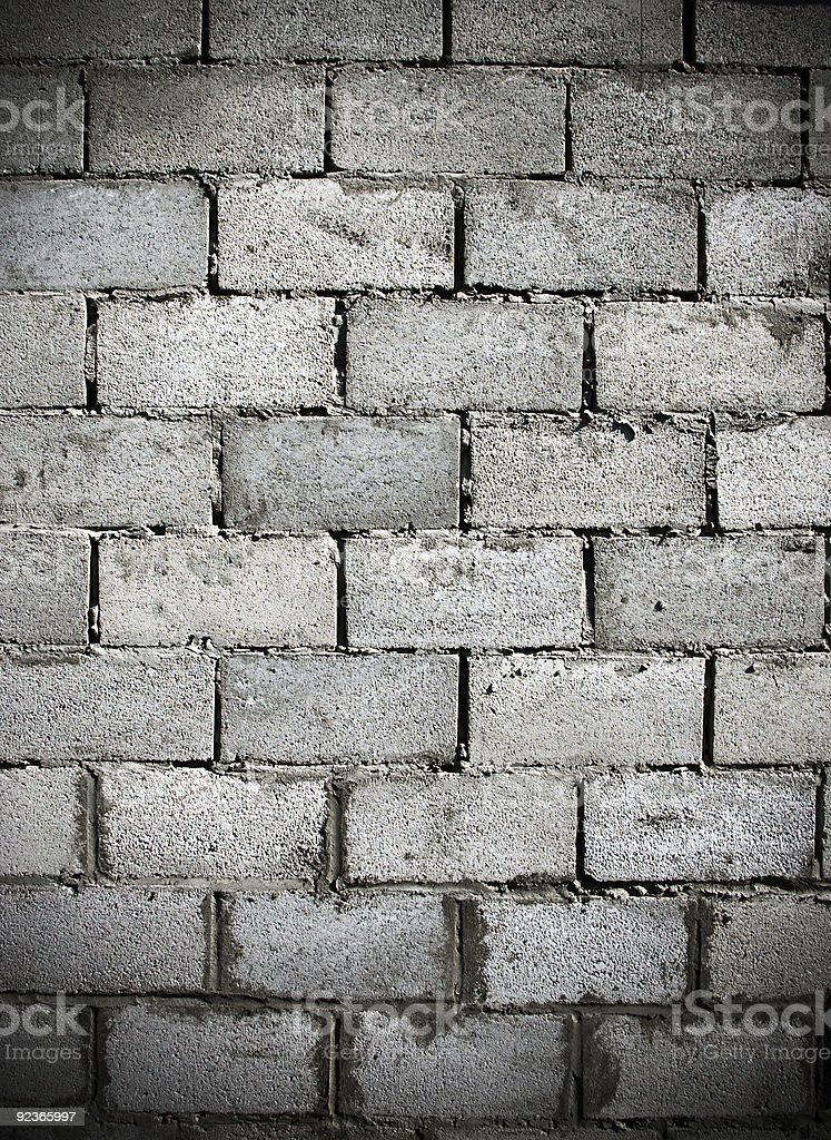 Dark brick wall royalty-free stock photo