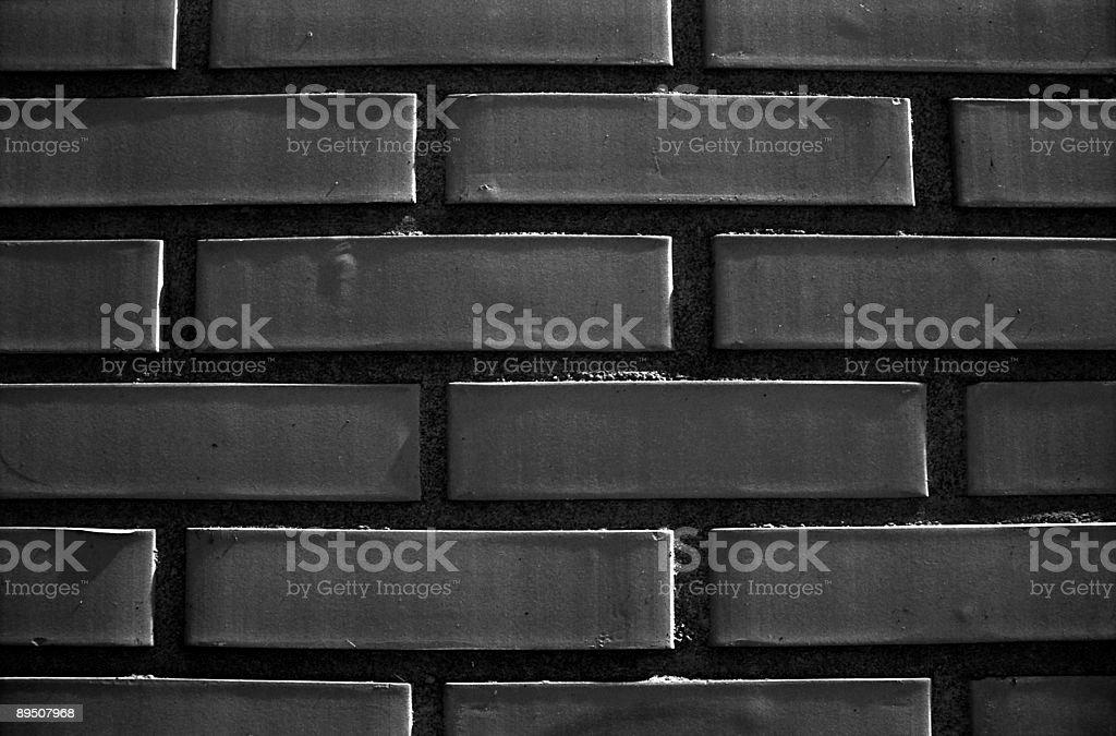 Dark Bricks royalty-free stock photo